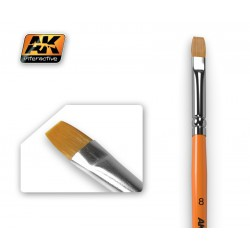 Flat Brush 8 Synthetic