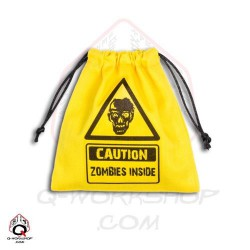 Dice Bag Zombie Yellow