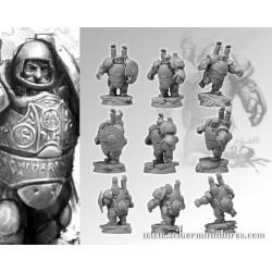 28mm/30mm Dwarves Steam Players Set (3)