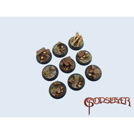 Troglodytes Bases - Wround 30mm (5)