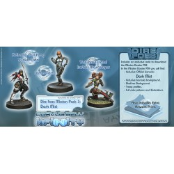 Dire Foes Mission Pack 3: Dark Mist (Caledonia Vs Japanese Sectorial Army) Isobel Macgregor, Yuriko Oda, Comm-tech