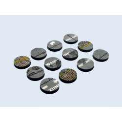 Warehouse Bases - Round 25mm (5)
