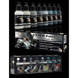 NMM Paint Set (Non Metallic Metal) Steel