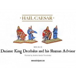 Decabalus & Sasages - Dacian King & Advisor