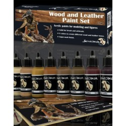 Wood And Leather Paint Set