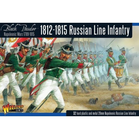 Late Russian Napoleonic Infantry