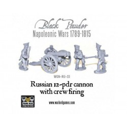 Napoleonic Russian 12-pdr Cannon (1809-1815)