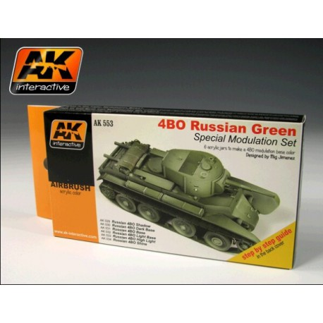 4b0 Russian Green Modulation Set