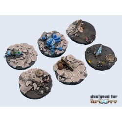 Urban War Bases - Round 40mm (2)