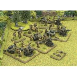 British Royal Artillery Platoon (4x 18/25-pdr)