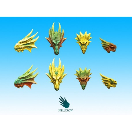 Salamanders / Dragons Icons