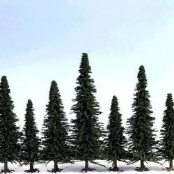 Fir Trees 170-220mm (10 Trees)