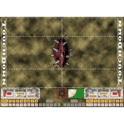 Fantasy Football Mat 6 (Dark Green)