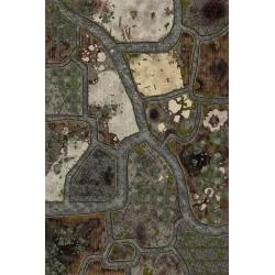 Mat - Dark Town - 180x120cm