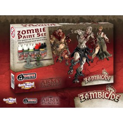 Warpaints - Zombicide Black Plague Paint Set