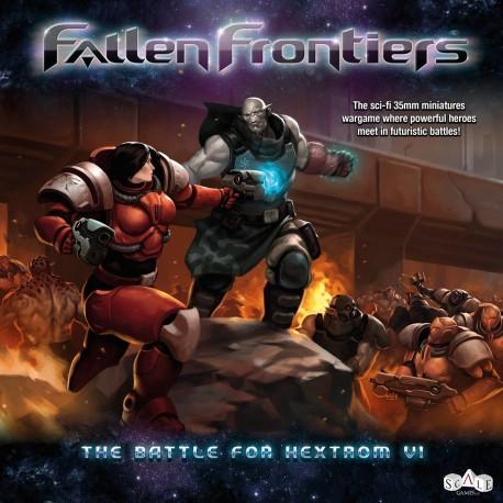 Fallen Frontiers - La Batalla de Hextrom VI (Caja de Inicio) (Spanish)