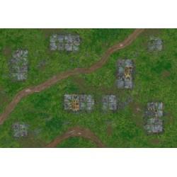 War Game Mat - 72x48 Inch - Outpost