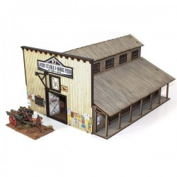 Dmh: Feature Building 6: Miller's Livery Stable