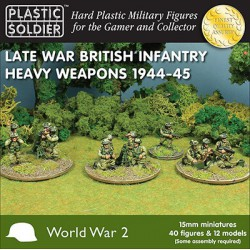 15mm British Late War Heavy Weapons 1944-45
