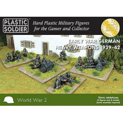 15mm German Early War Heavy Weapons 1939-42