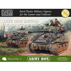 15mm Army Box British Late War Armoured Division
