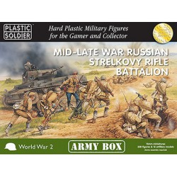 15mm Army Box Russian Mid/Late Strelkovy Rifle Battalion