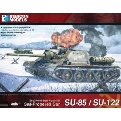 Soviet SU85/SU122 Self Propelled Gun