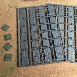 20x20mm Paved Effect Bases (64)