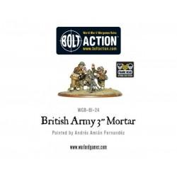 "British Army 3"" Mortar Team"
