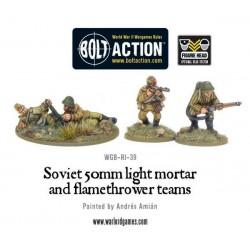 Light Mortar & Flamethrower Soviet Army