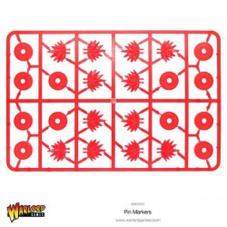 Warlord Pin Markers plastic