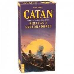 Catan Piratas y Exploradores 5-6 jugadores (Spanish)