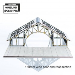 Home Land Apocalypse: Shopping Mall 150mm Floor and Roof