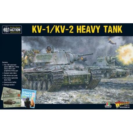 Soviet KV-1 / KV-2 Heavy Tank