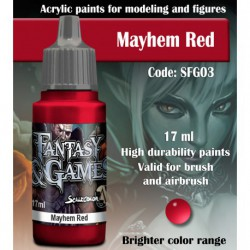 Mayhem Red
