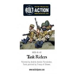 Tank Riders Soviet Army