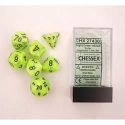 Vortex Dice Bright Green 7-die Set