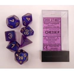Borealis 2 Royal Purple/gold 7-die Set