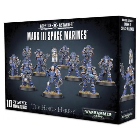 Mark III Space Marines (10)