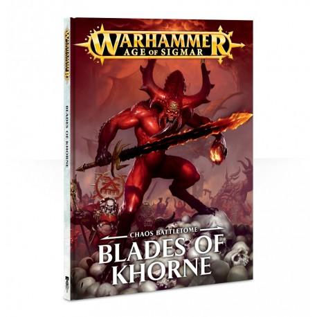 Battletome: Blades of Khorne (Inglés) 2018