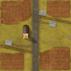 "Corn Fields Game Mat 36"" x 36"""