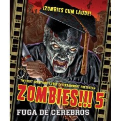 Zombies!!! 5: Fuga de Cerebros (Spanish)