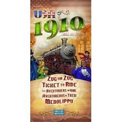 ¡Aventureros Al Tren! Usa 1910 (Spanish)