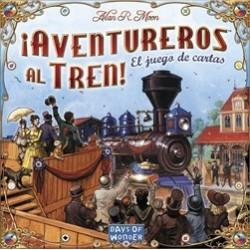 ¡Aventureros Al Tren! El Juego de Cartas (Spanish)