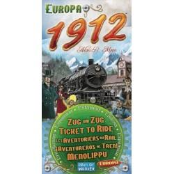 ¡Aventureros Al Tren! Europa 1912 (Spanish)