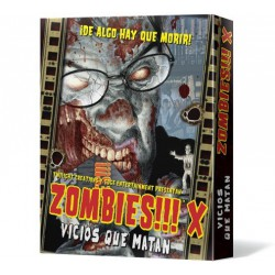 Zombies!!! X: Vicios Que Matan (Spanish)