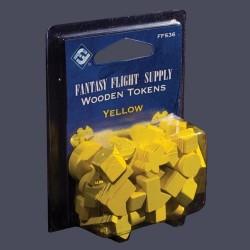 Yellow Assorted Wood Tokens (50)