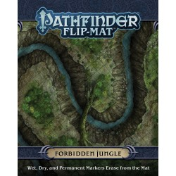 Forbidden Jungle: Pathfinder Flip-Mat