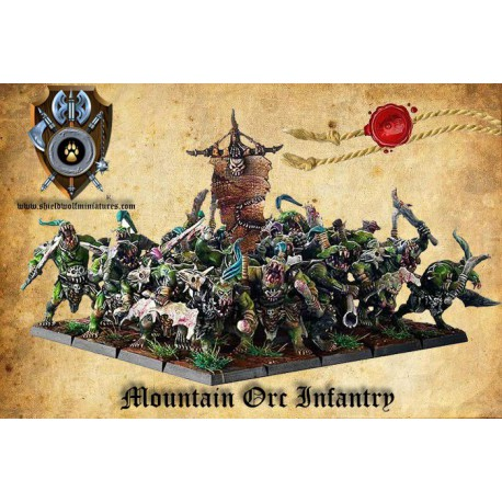 Mountain Orcs Infantry (20)