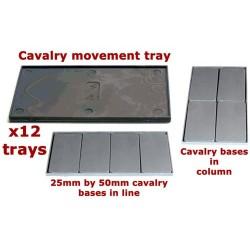 Cavalry Movement Trays (x12)